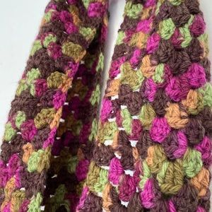 Crochet Scarf (handcrafted)